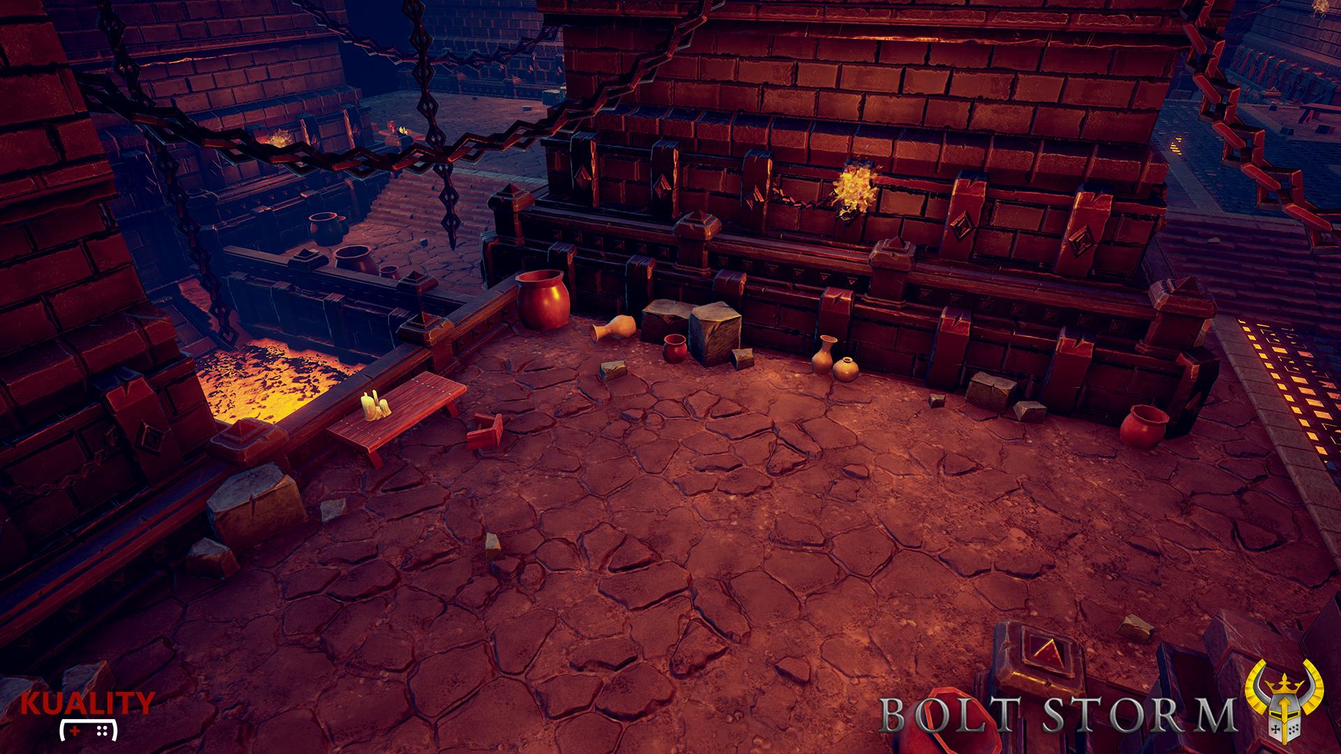 Bolt Storm - Morgue Area