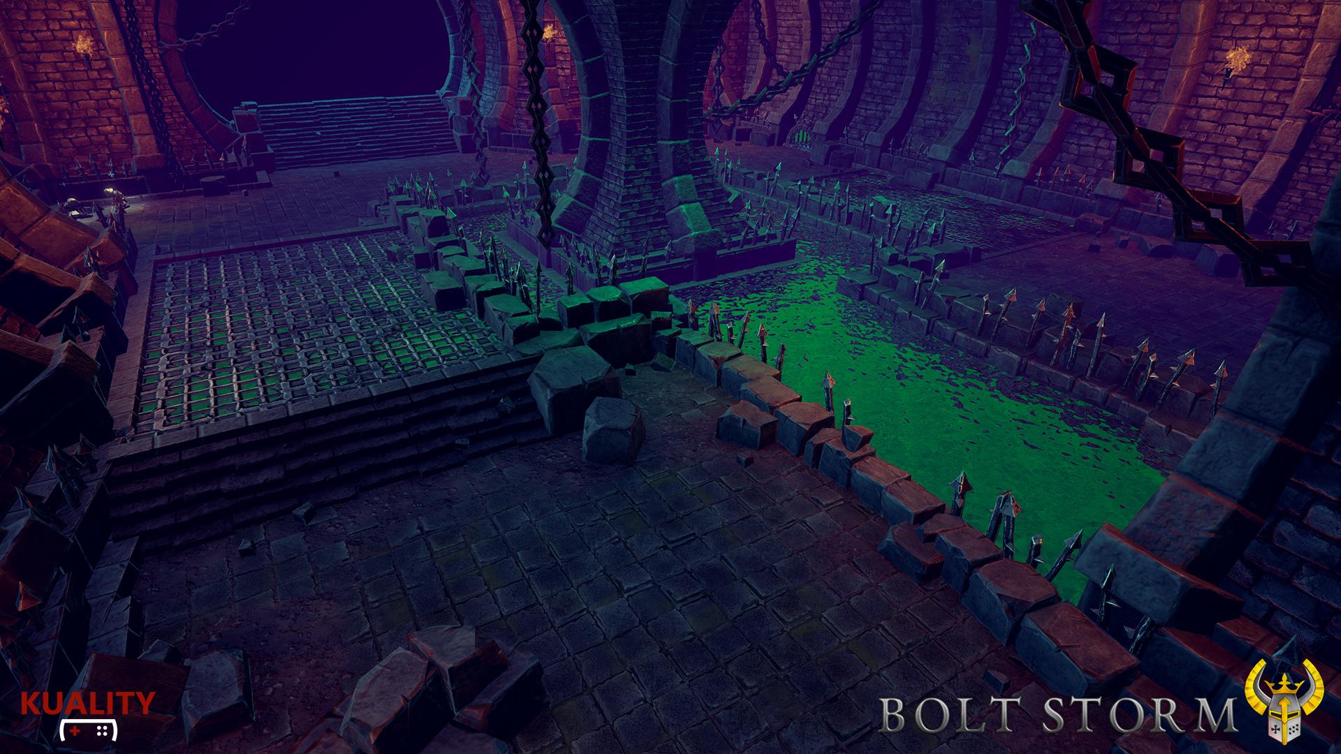 Bolt Storm - Sewer Area