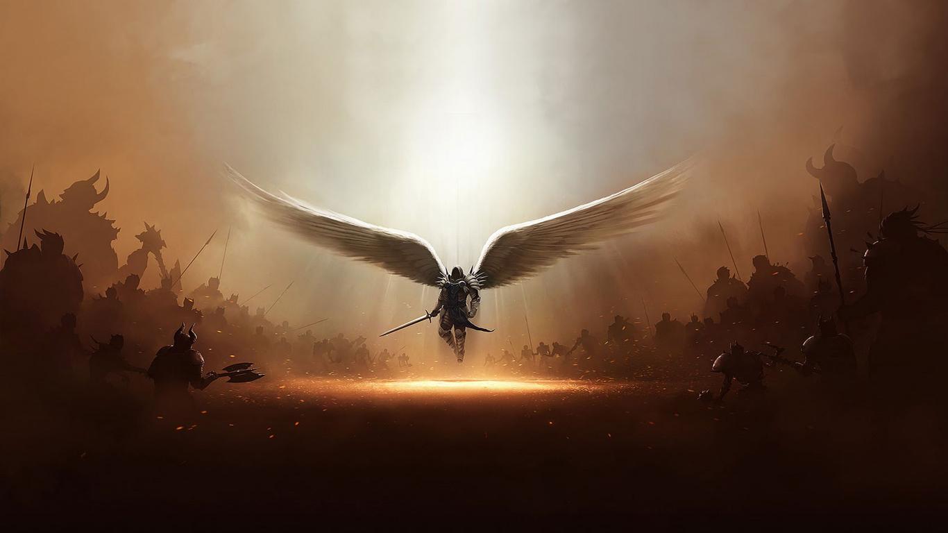 medieval angel warrior image mattmandude indie db