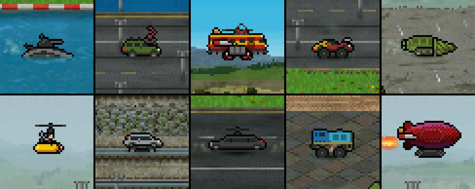 upgrade vehicle examples