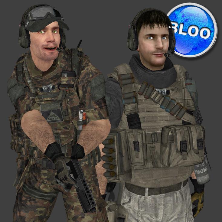 Rick VIce and HunterDNRC's playermodels image - BlooCobalt - Indie DB