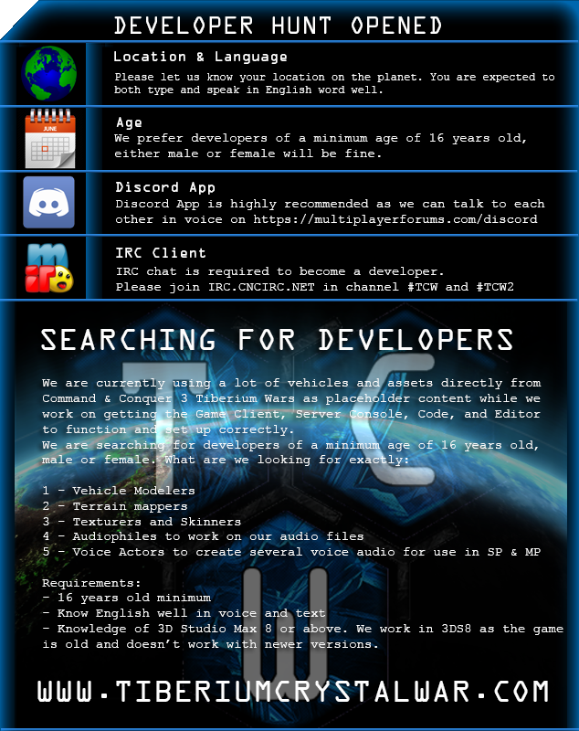 Searching for Developers news - Mod DB