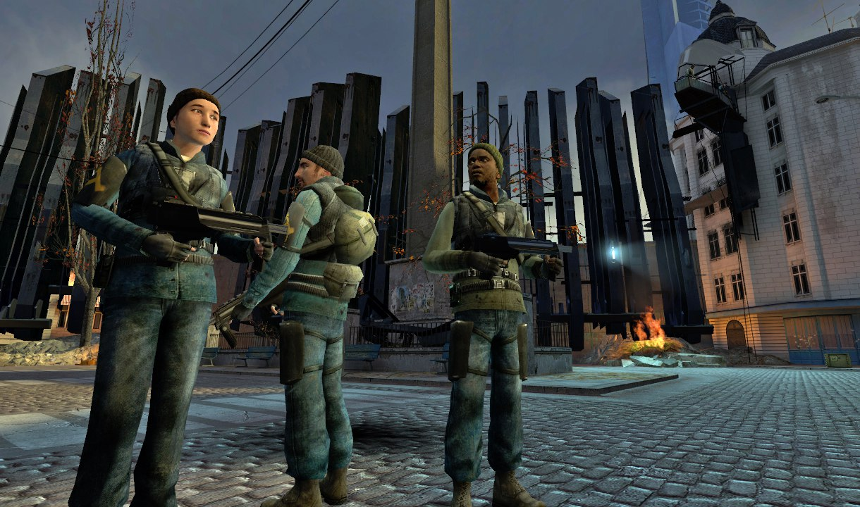 Rebel squad from Half-Life 2