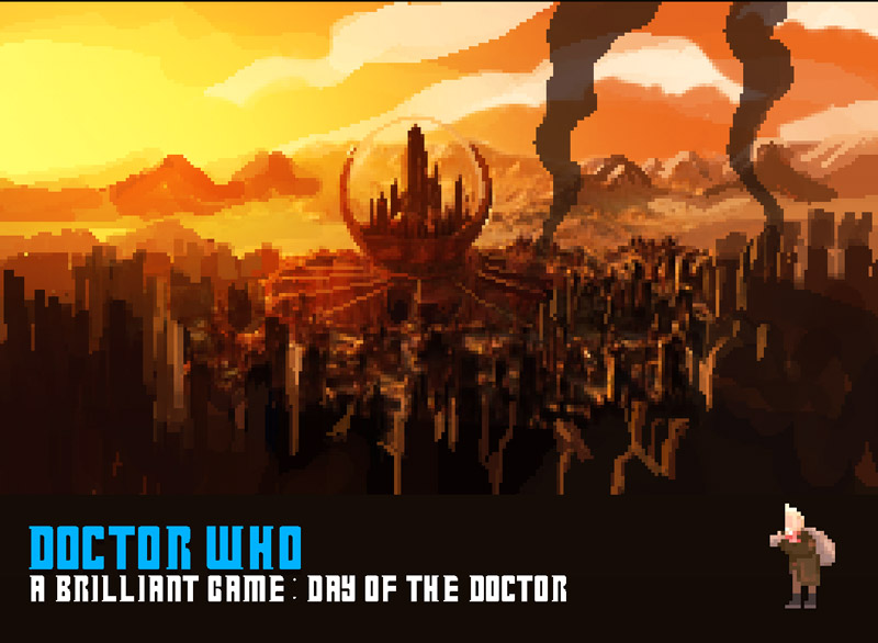 doctorwho a  brilliant game screen