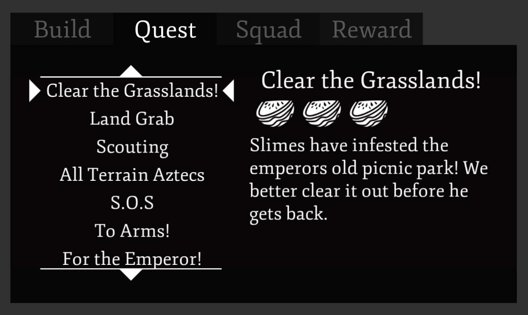 New UI Quest Tab