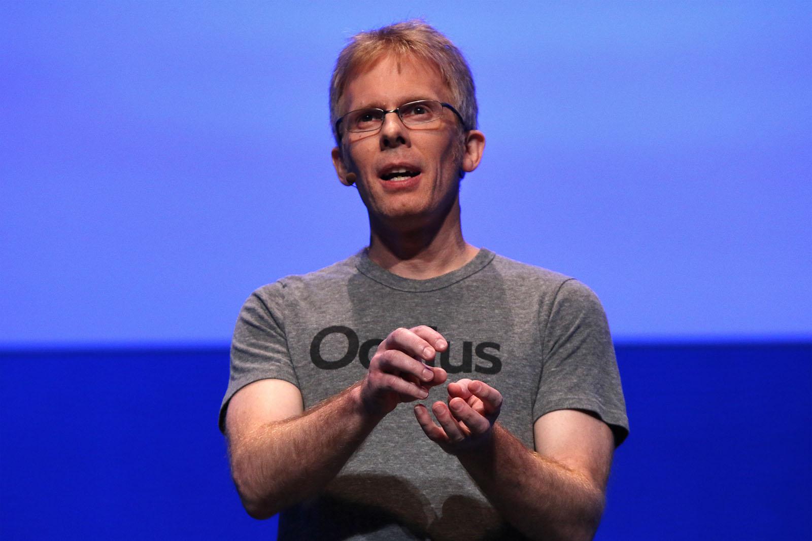 John Carmack CTO at Oculus 3 2
