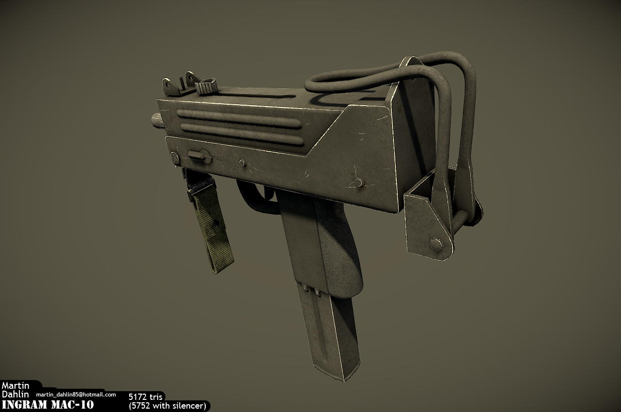 Cobray Ingram Mac 10 image - Nightshade - Indie DB