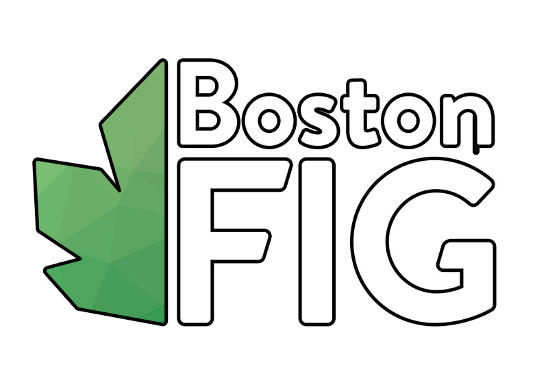 BostonFIG logo white