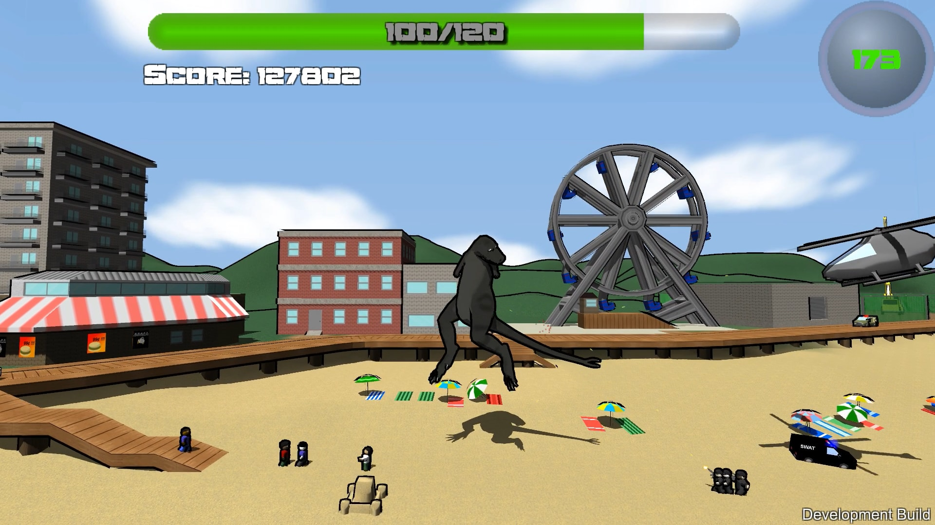 Beach level screenshot