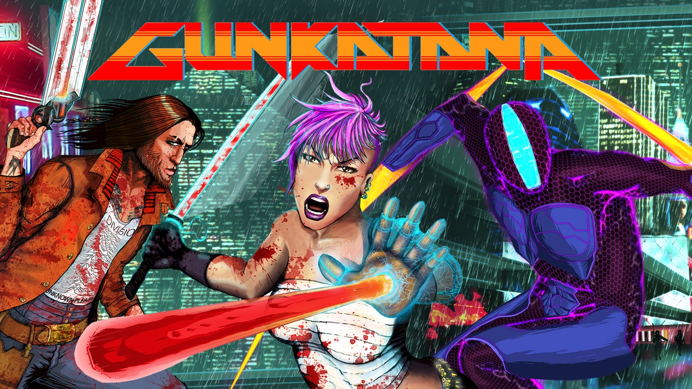 Gunkatana now On Kickstarter