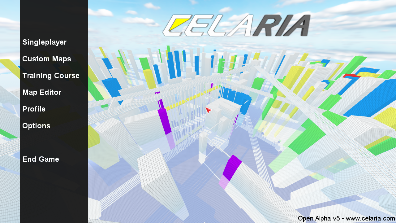 Beta progress multiplayer and custom maps news celaria mod db the idea was to use the background as a level selection menu so if you open up the map selection and select a map it will swap the map which is rendered gumiabroncs Images