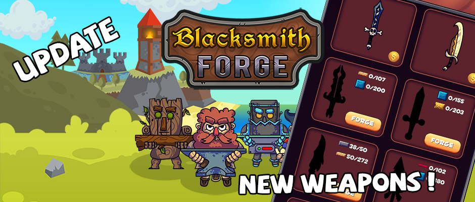 blacksmith forge new forge items rapid games studio