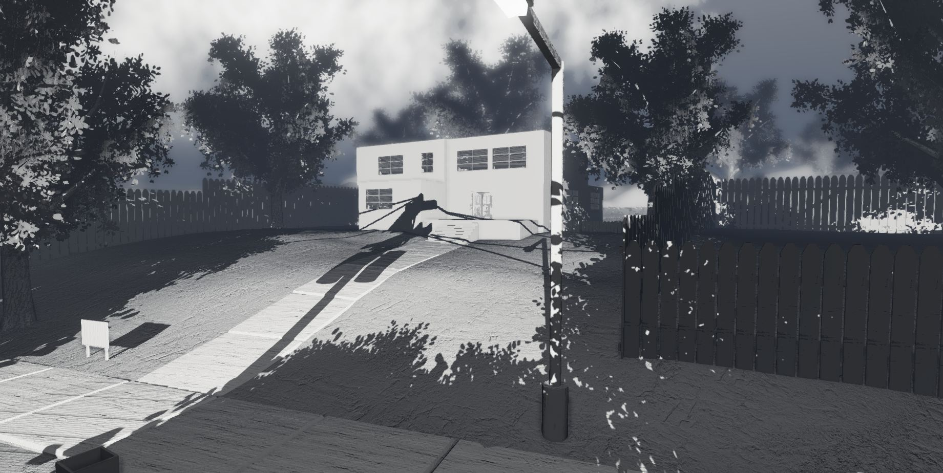 The original version of Reflections in Unreal Engine 3 in March of 2012
