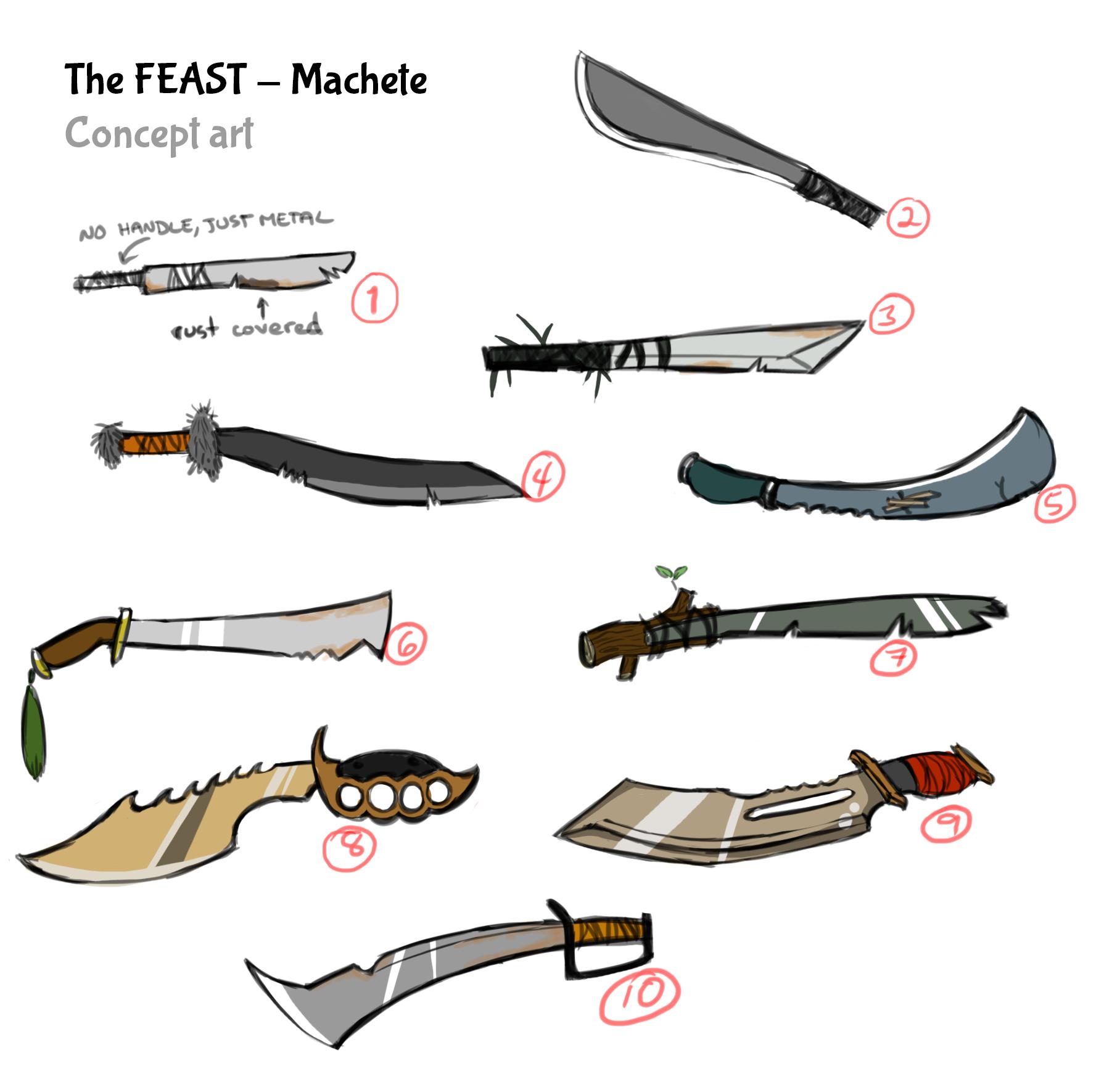 FEAST machete2
