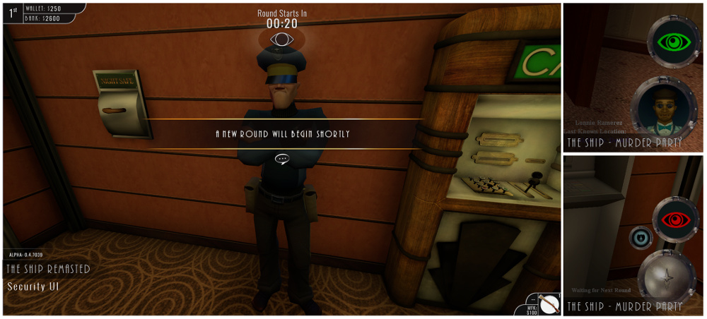 The Ship: Remasted - Security HUD