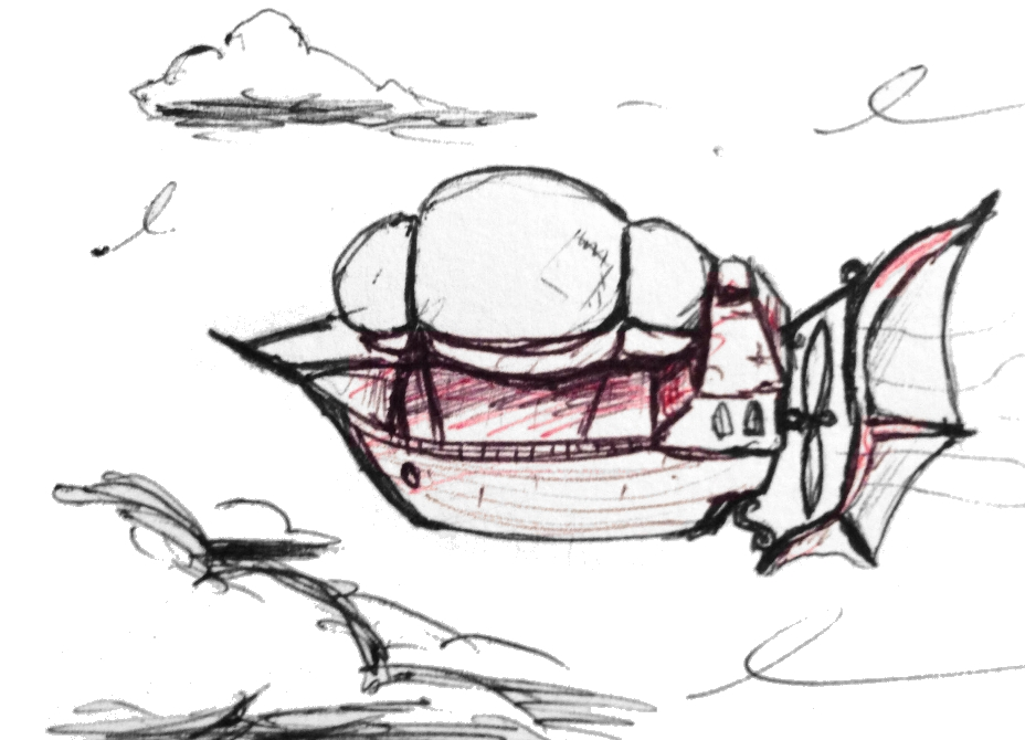 Airship Cleaned Up