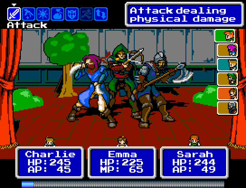 Bandit Bros Battle