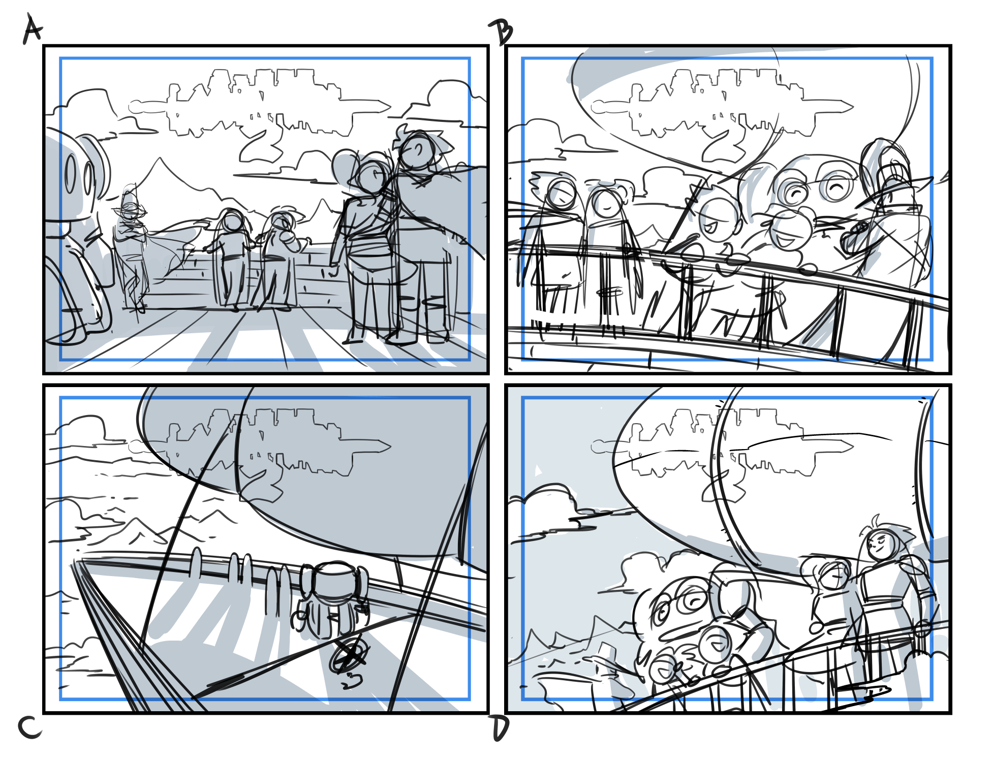Promo Art Perspective Sketch