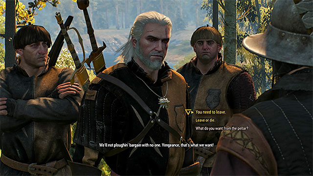 Witcher 3 Dialogue Example