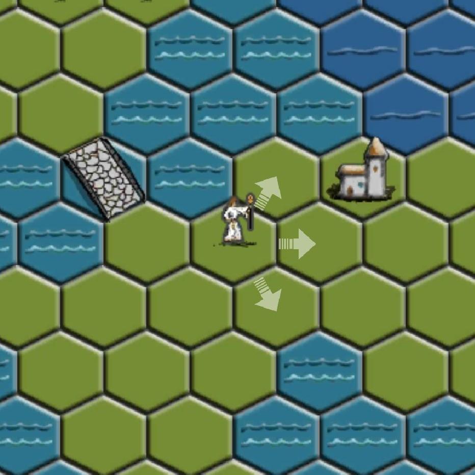 Game: Wilderness Hex Grid