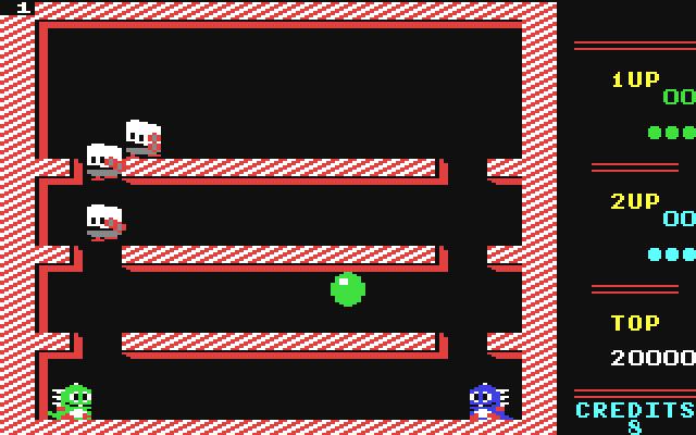 Bubble Bobble (C64 - Firebird 1987)