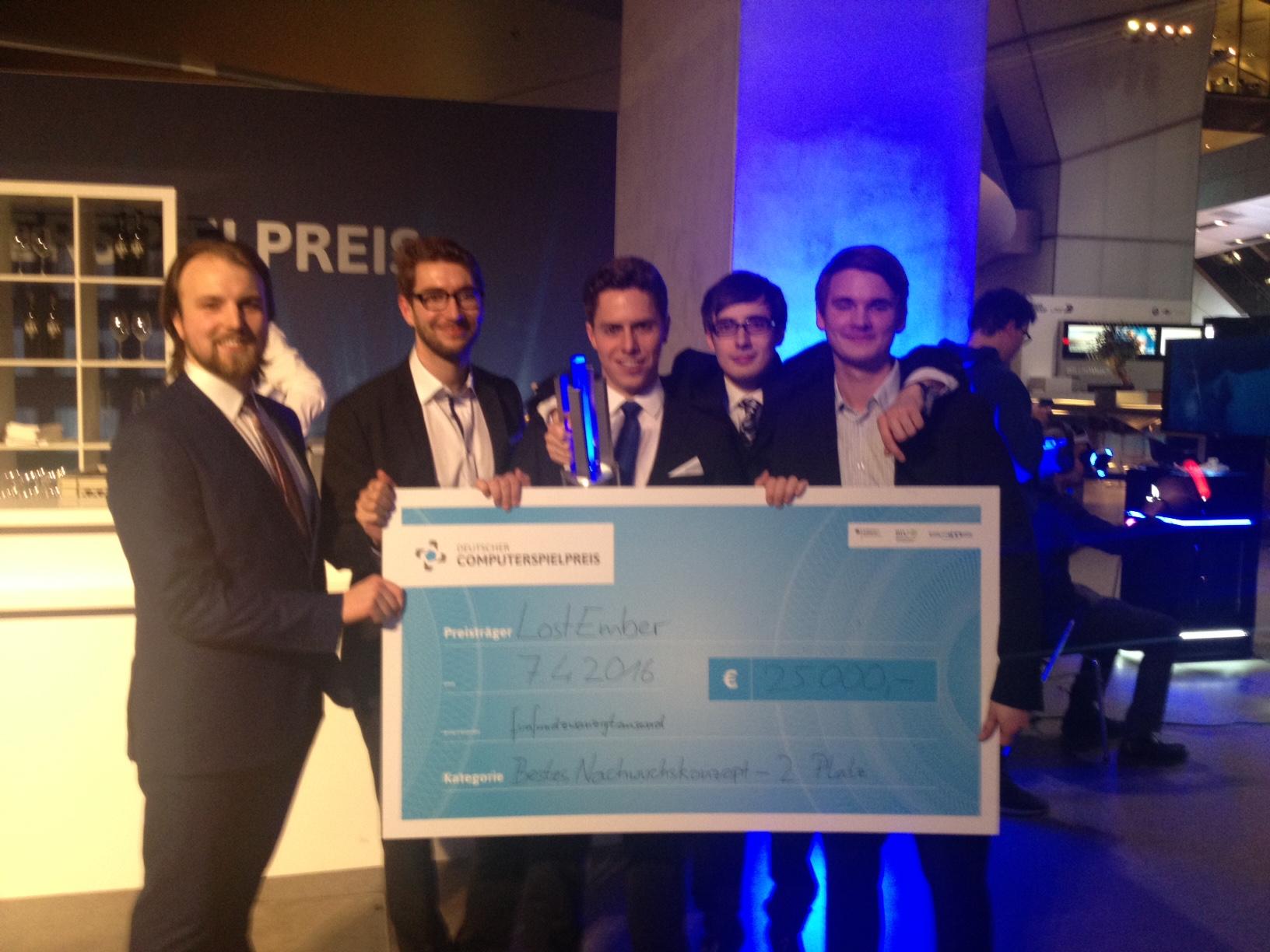 The German Videogame award 2016