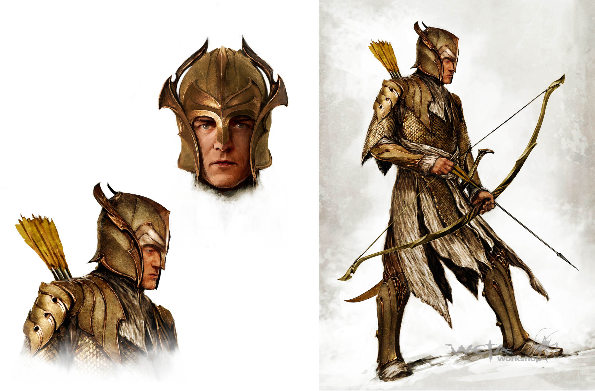 Mirkwood Archer Concept image - LordDainOfIronHills - Indie DB