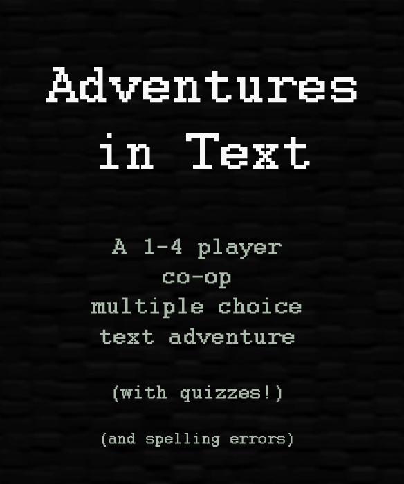 Adventures in Text out now on Xbox 360 & PC news - Indie DB