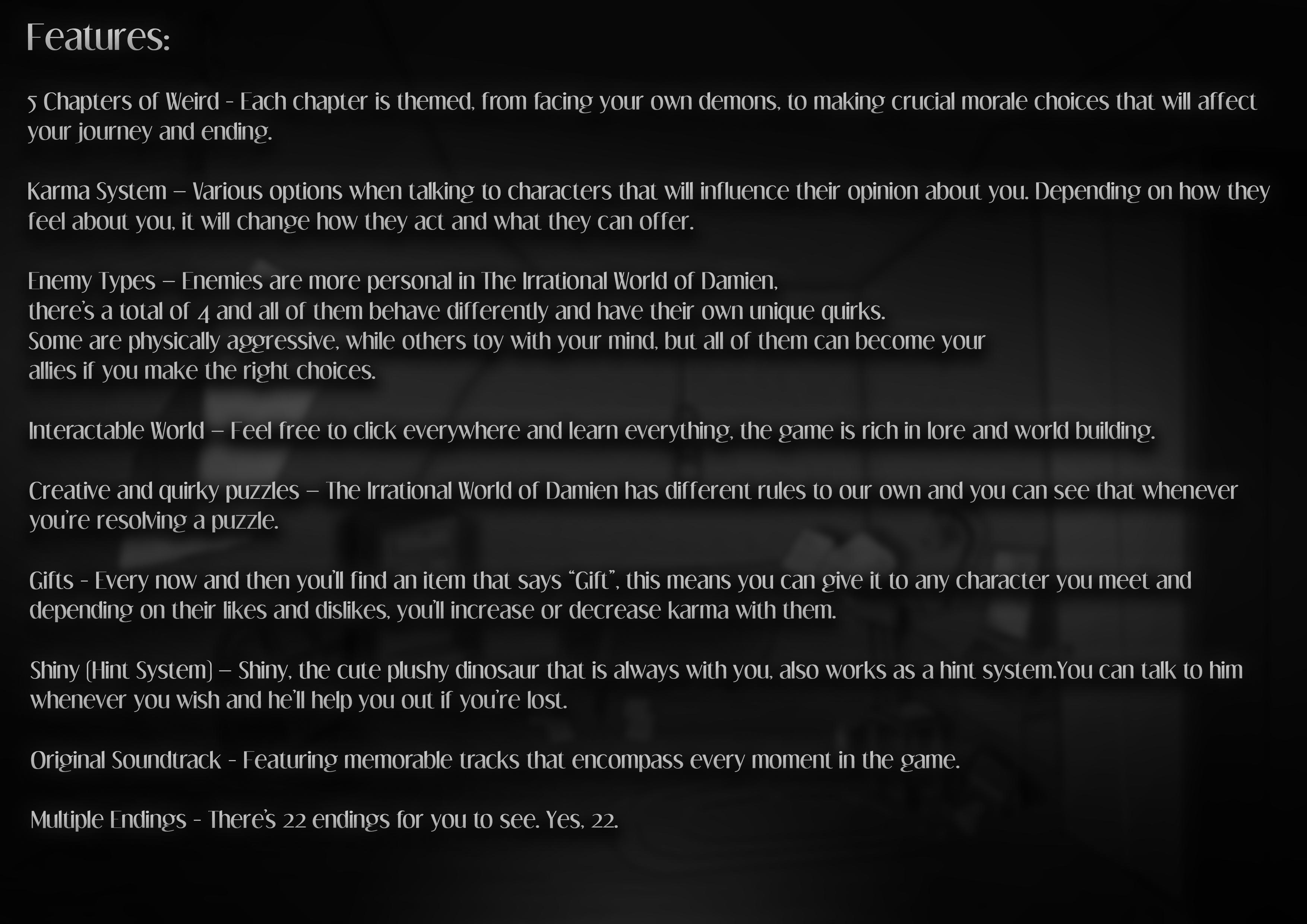 Scenario 2 Text Features