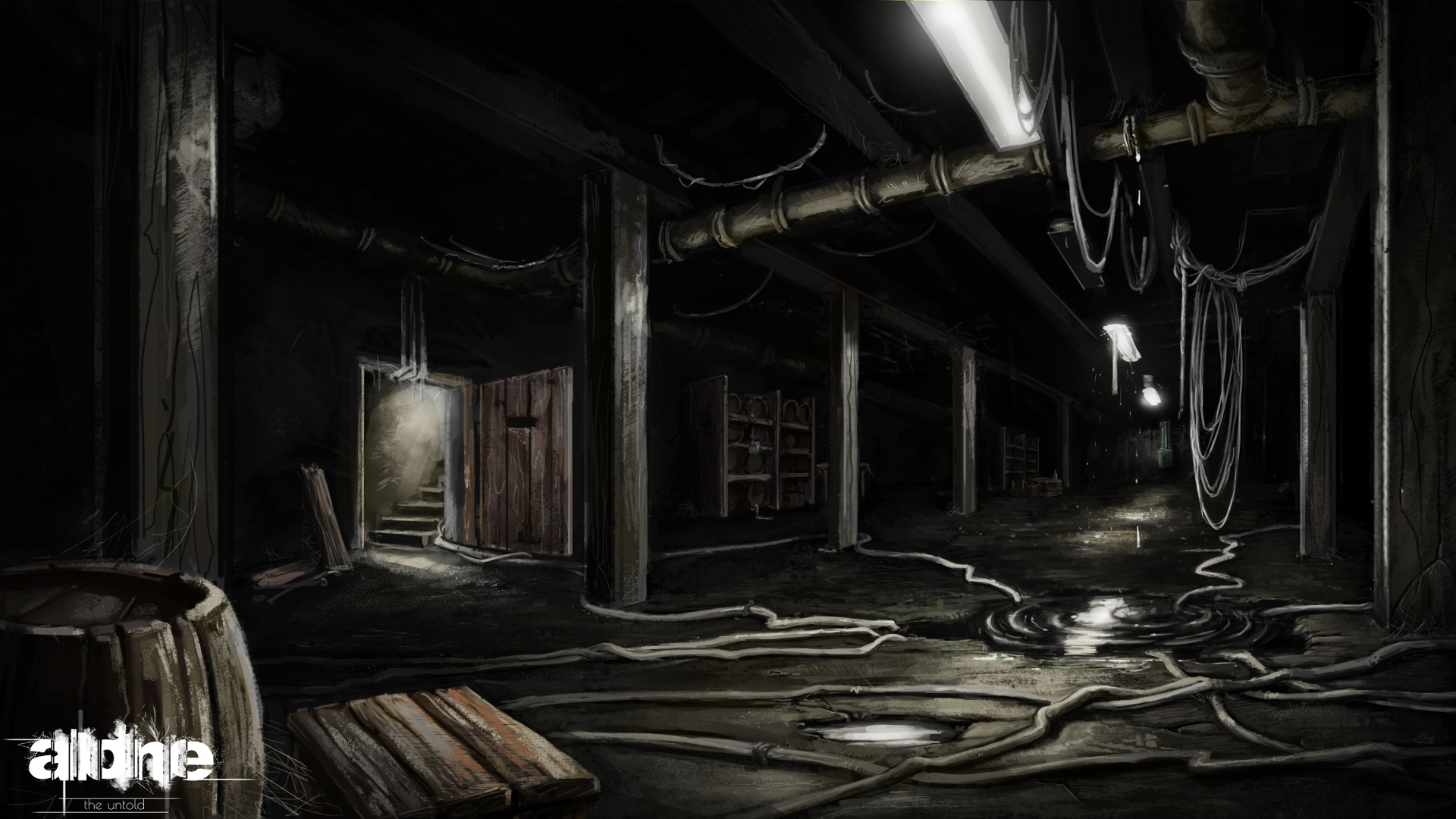 Introduction news alone the untold indie db for Basement concepts