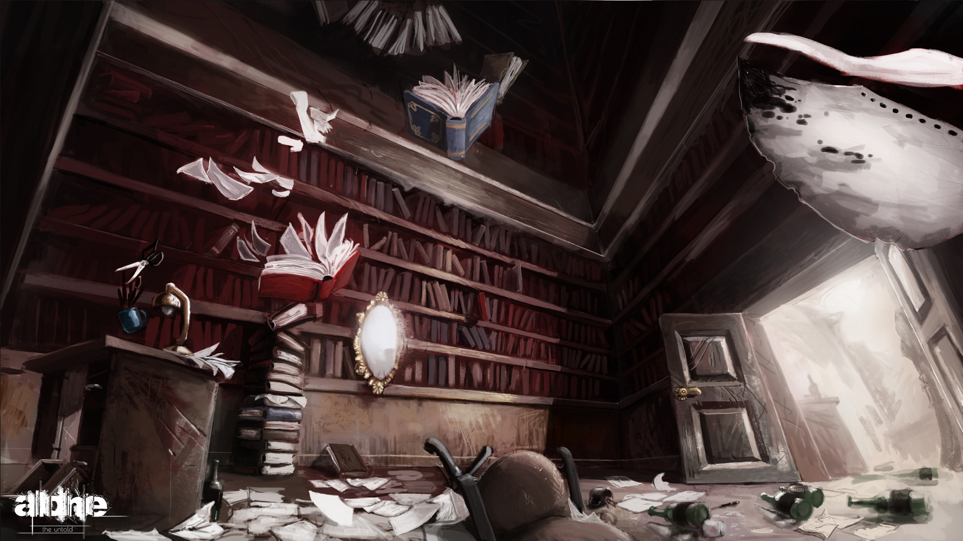 Alone Study Room Concept