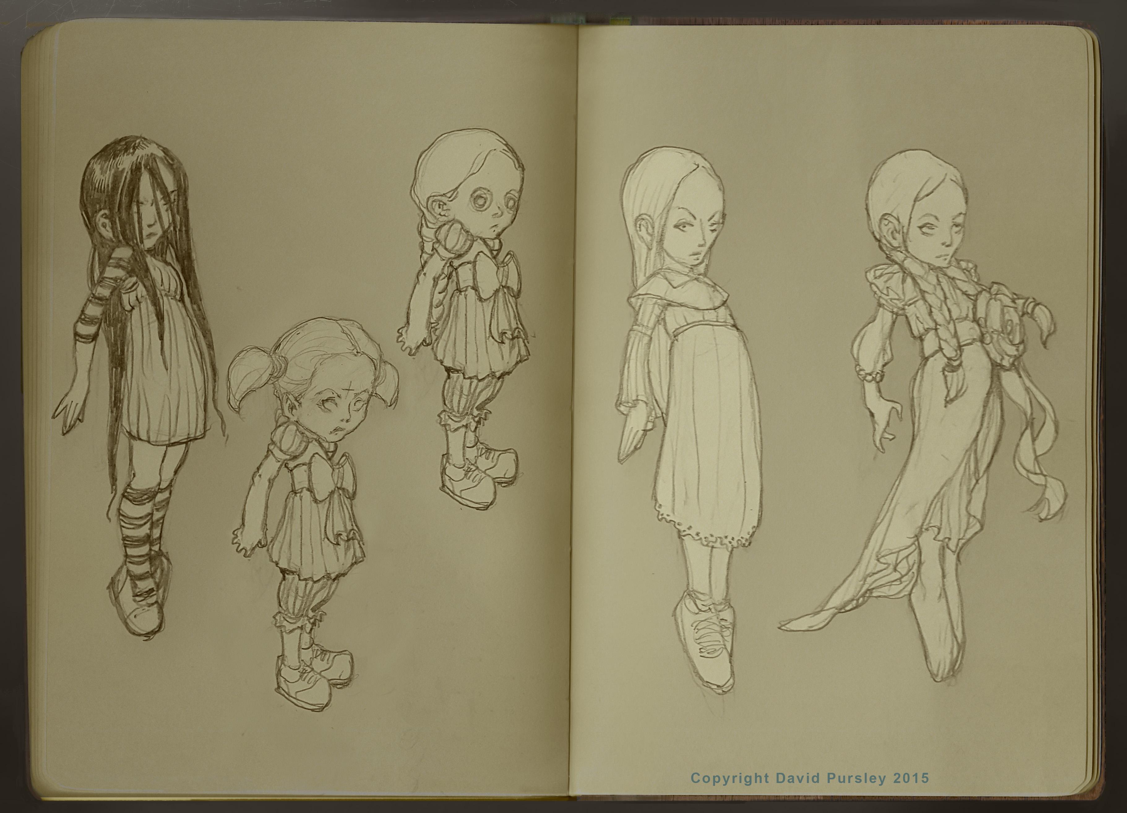 Little Gilrs