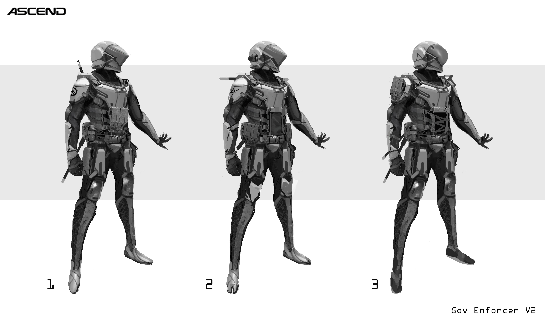 Gov Enforcer Sketch 2
