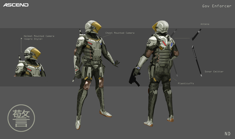 Gov Enforcer Sketch 3B