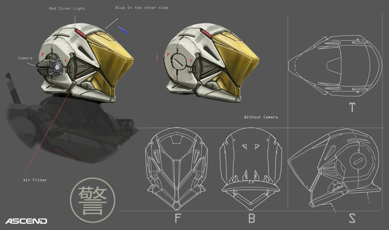 Gov Enforcer helmet sketch2