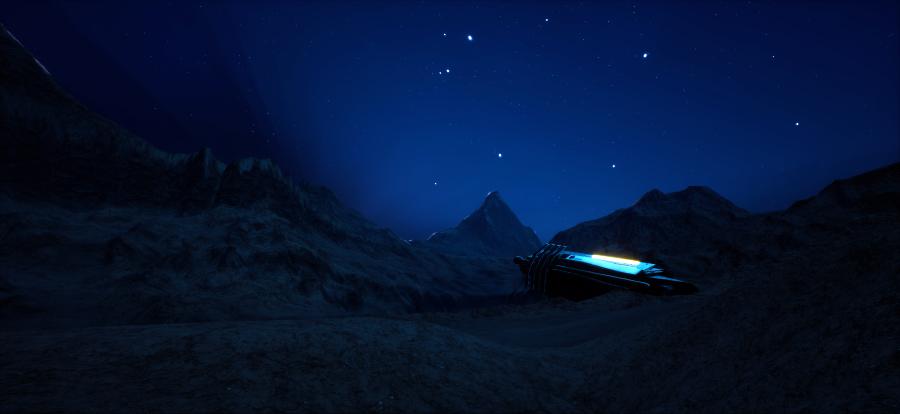 Badlands Night2