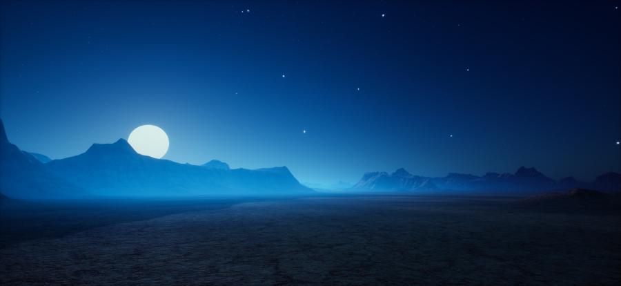 Badlands Night3