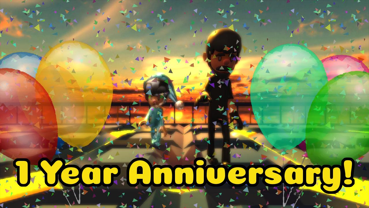 1 yearAniversary 1