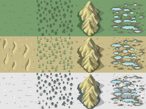 biome variation tile set