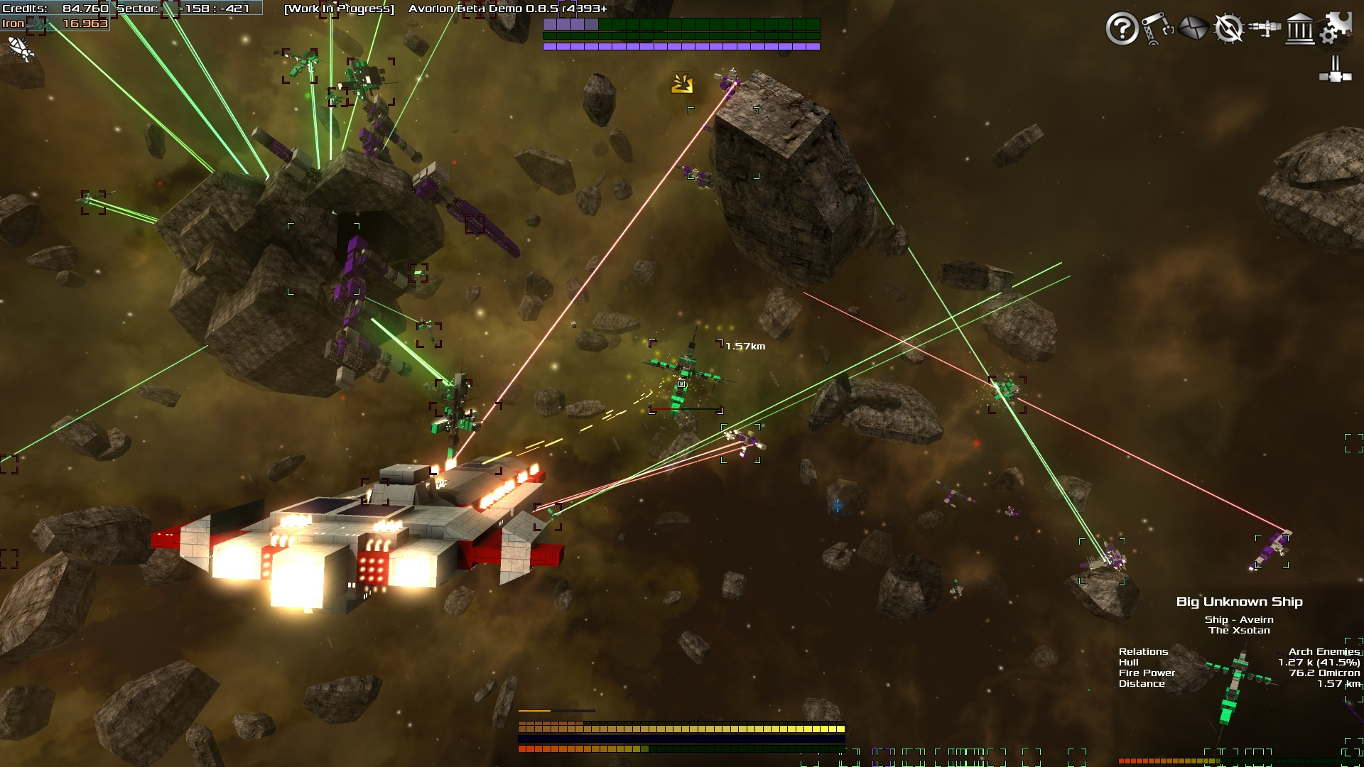 In the Super Action Mode players are attacked by neverending waves of enemies.