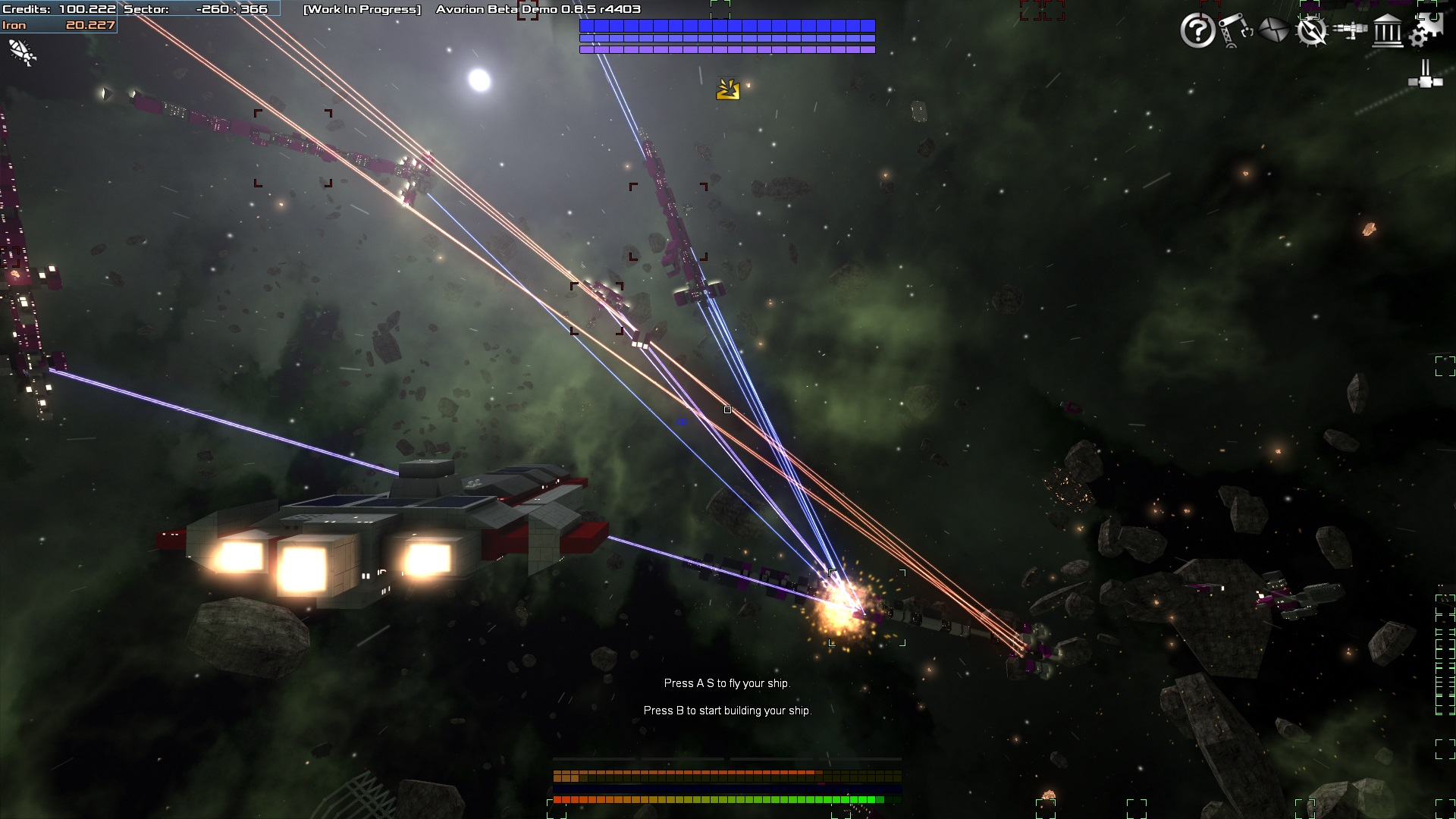 Avorion's latest update features more combat and a faster paced gameplay