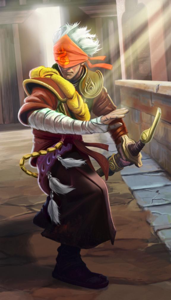 Blind Swordsman