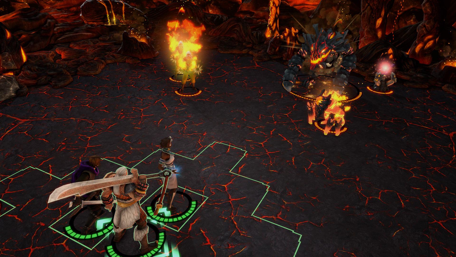 Redesigned Roggix, Flame Incarnate's Labyrinth