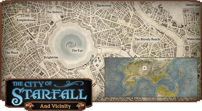 Starfall city