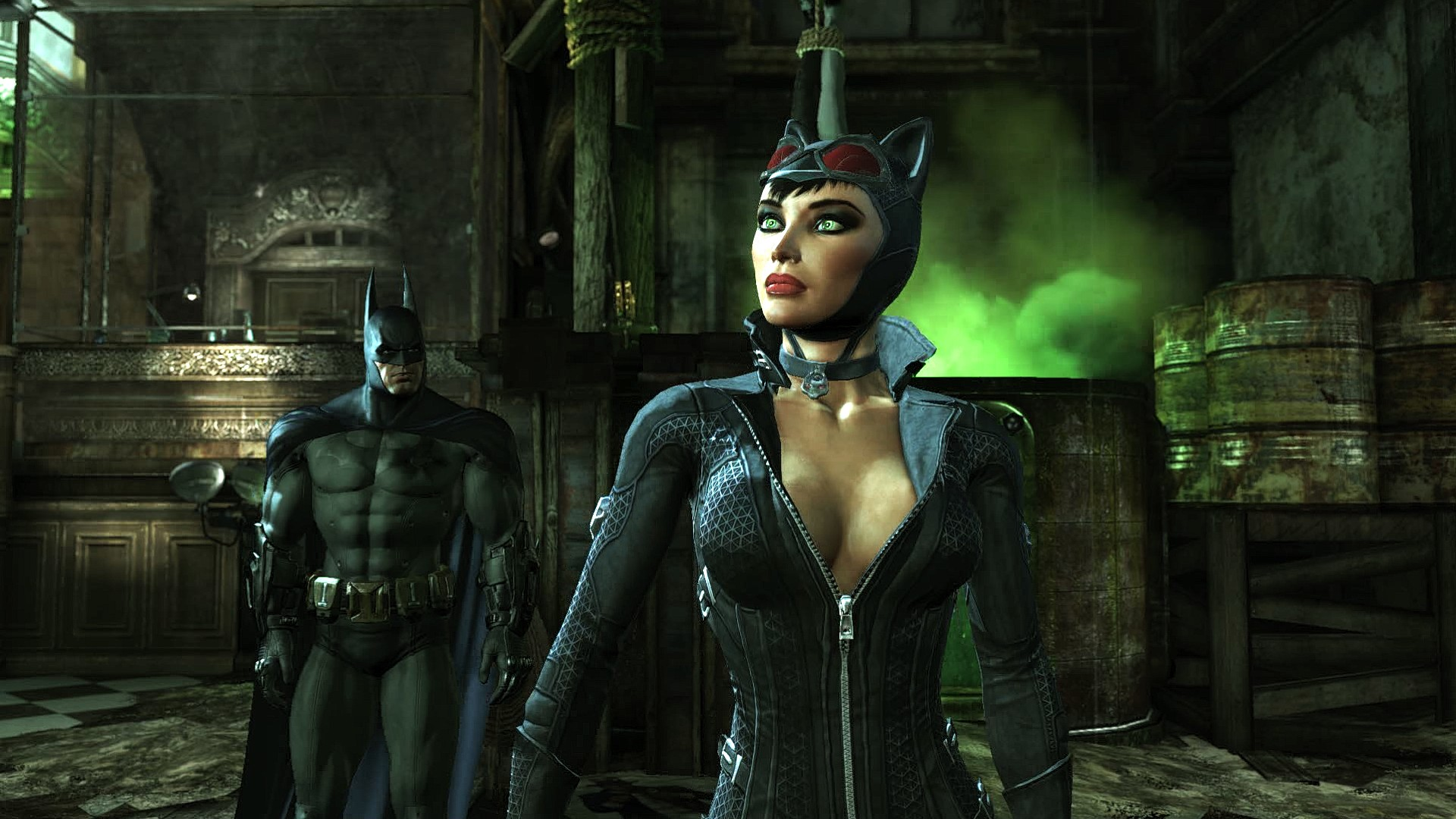 Arkham city cat woman mod porn videos