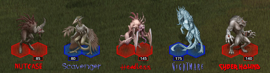 New playable creatures