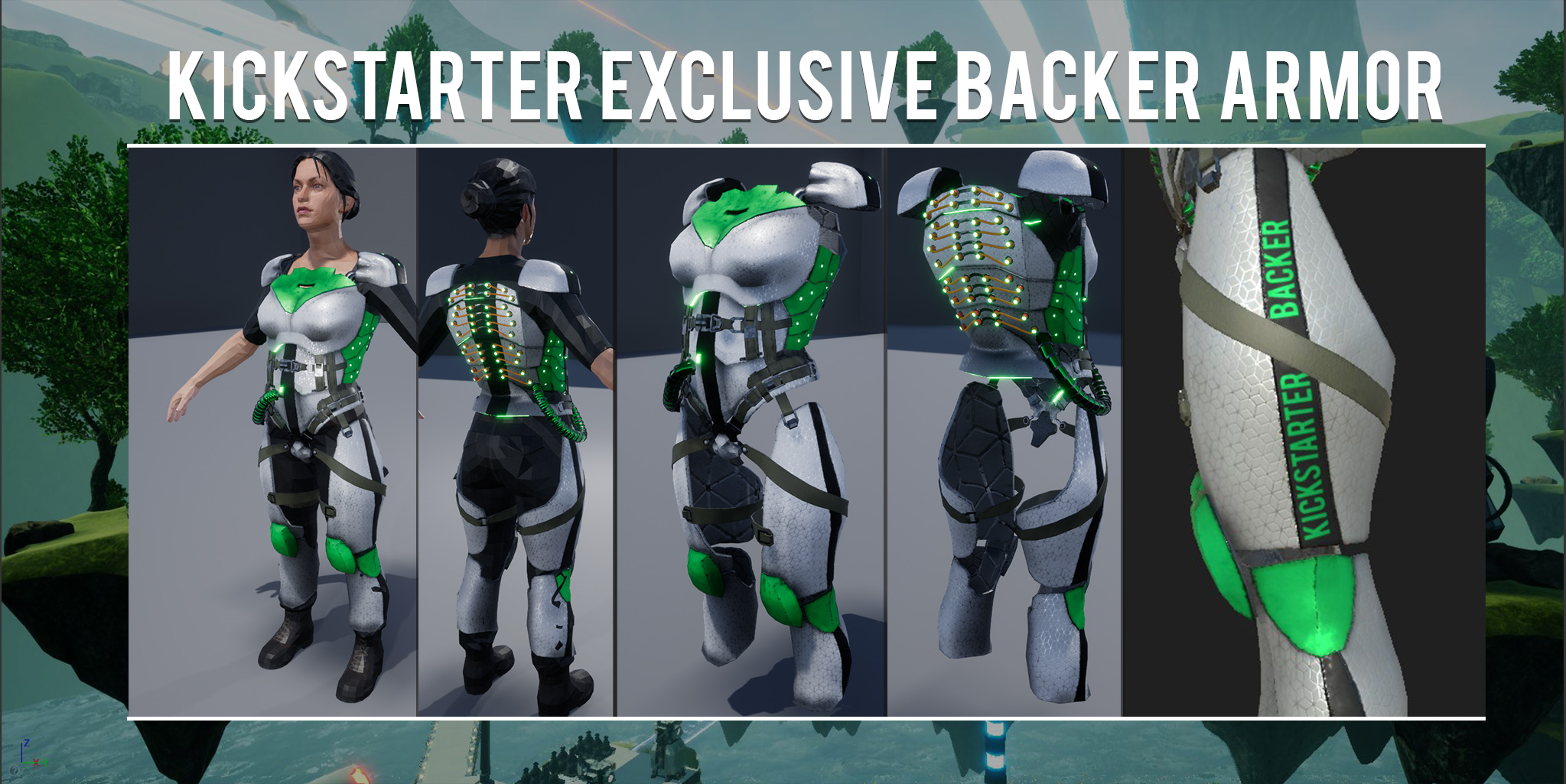 kickstarter backer armor