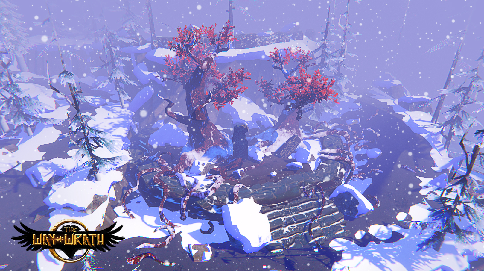 Screenshot, with game environment.