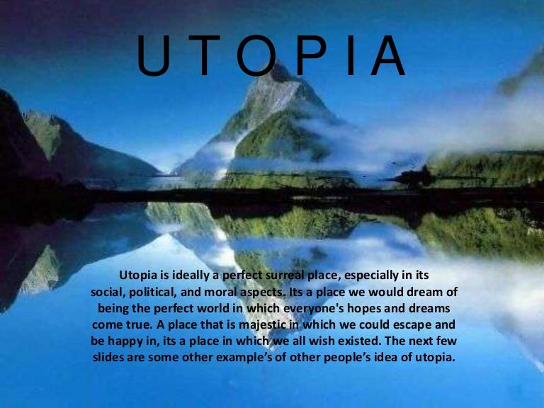 Utopia Essays