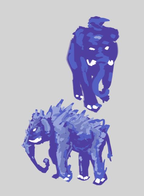 Mammoths concept